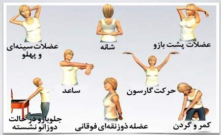 حرکات-ورزشی-و-کششی-شانه